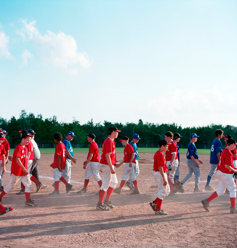 Baseball kids by Winnipeg commercial photographer