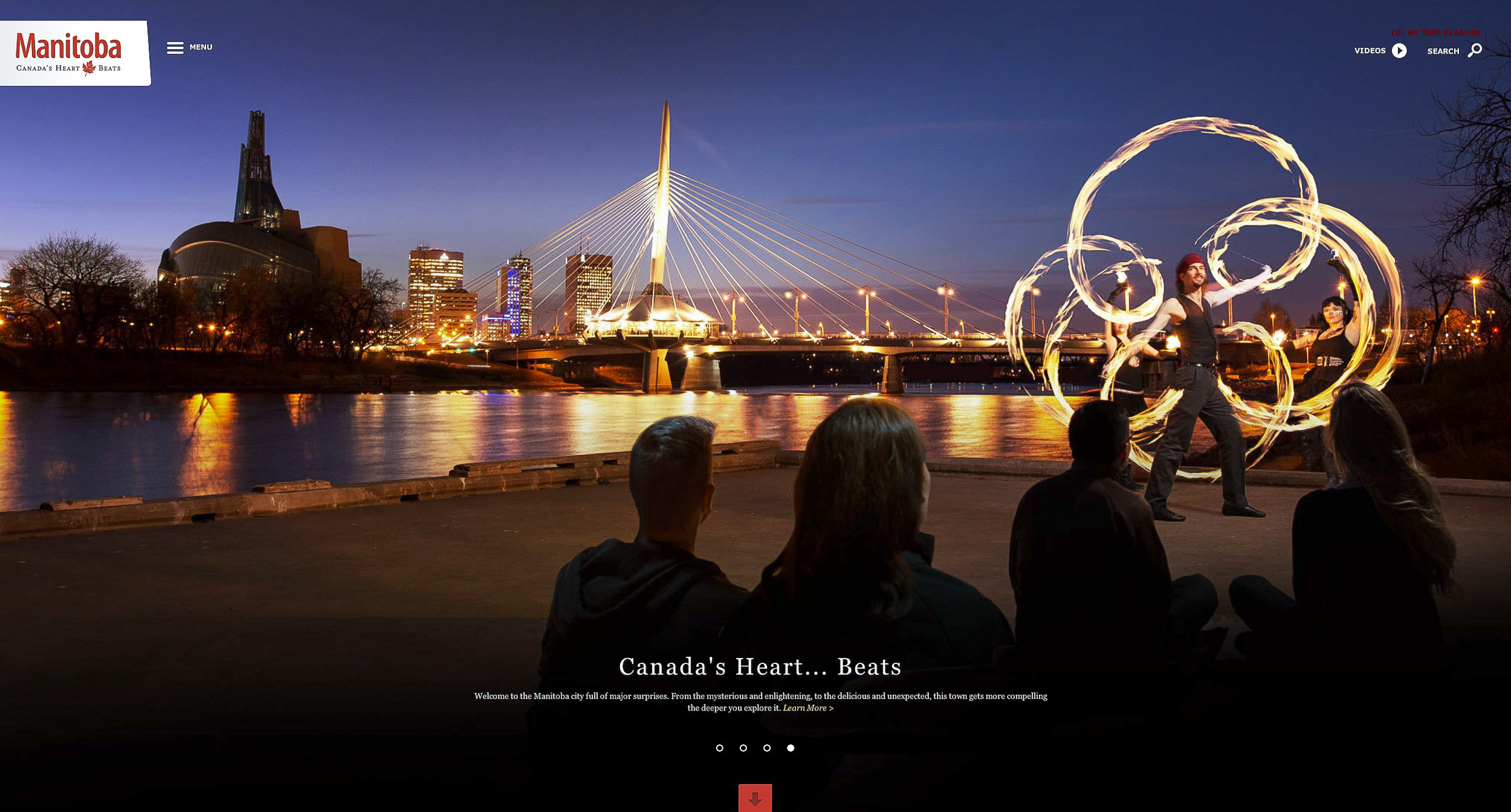 Travel Manitoba website.  Photography by Thomas Fricke, Winnipeg commercial photographer.