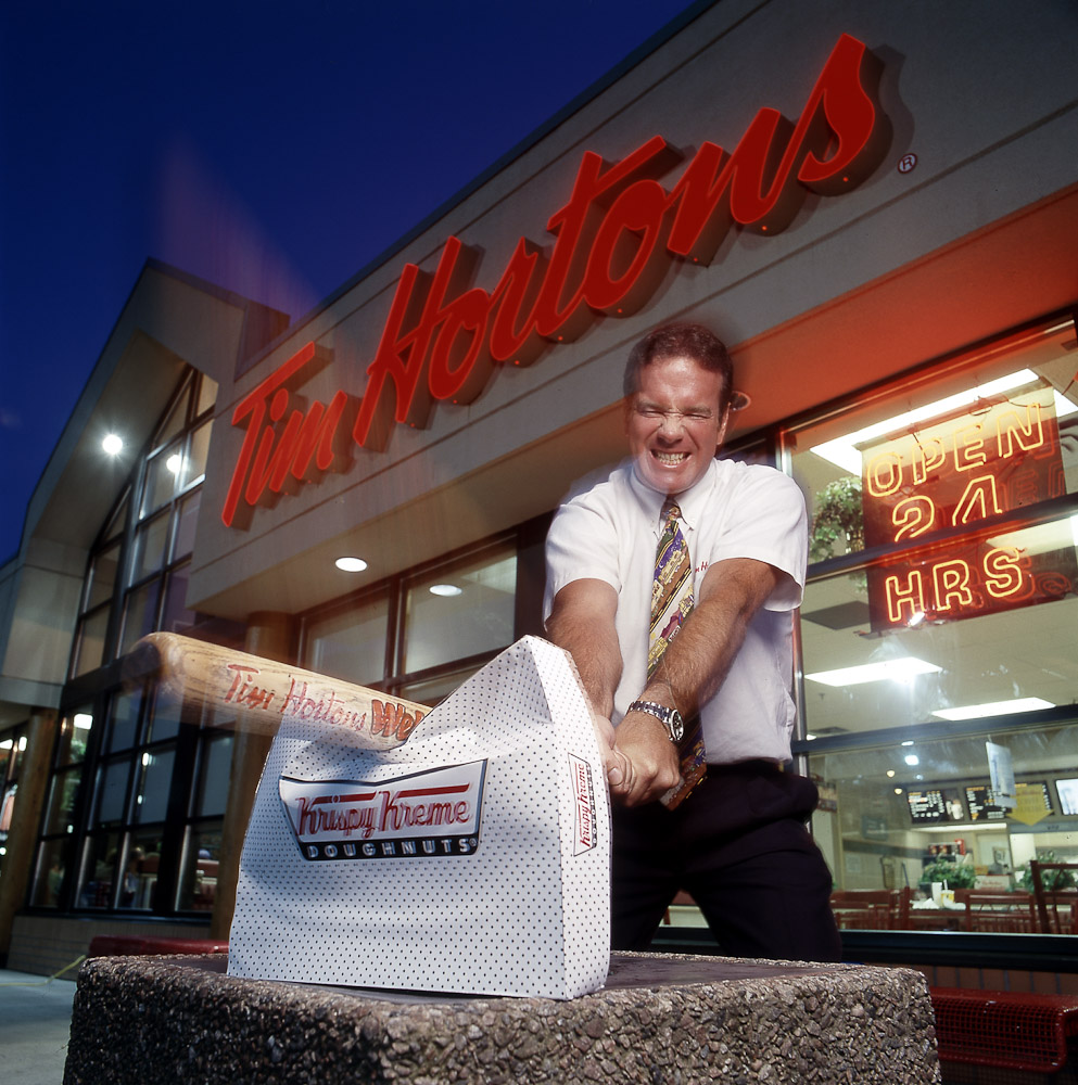 Tim Hortons by winnipeg editorial photographer