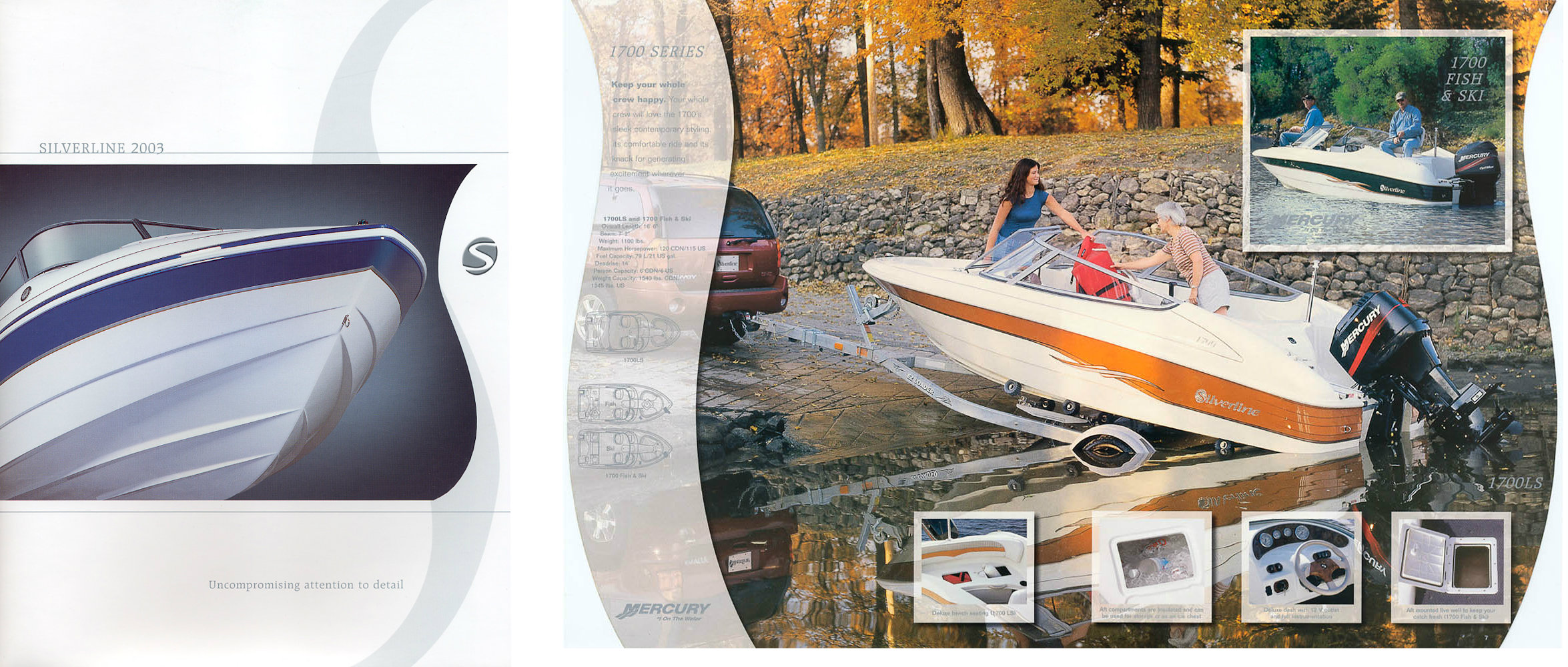Boat ad by Winnipeg commercial photographer