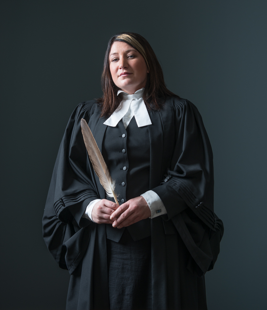 Aboriginal lawyer by Winnipeg editorial photographer