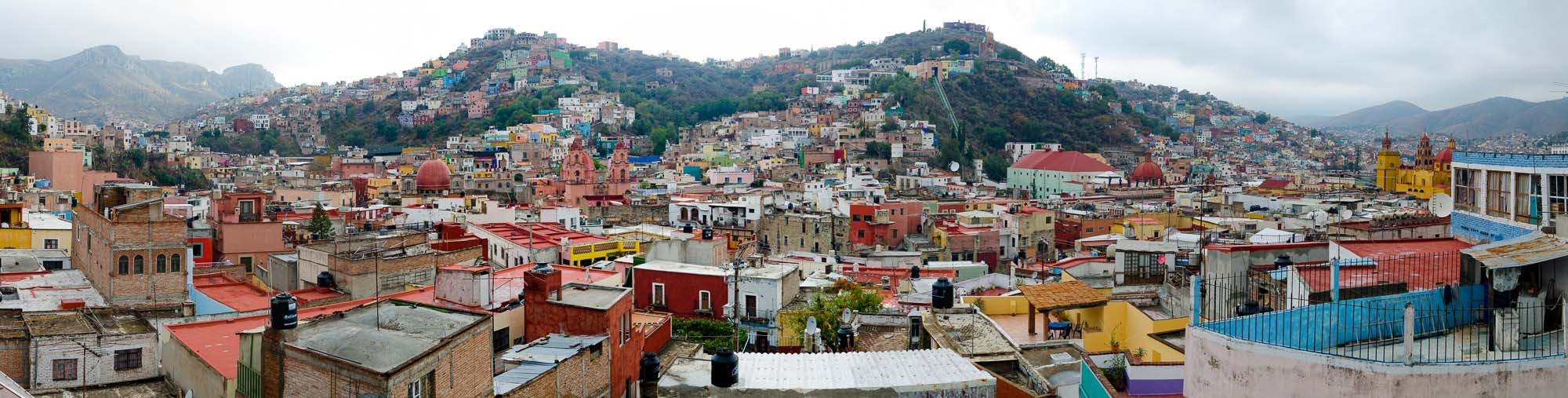 Guanajuato view 2 by Winnipeg travel photographer