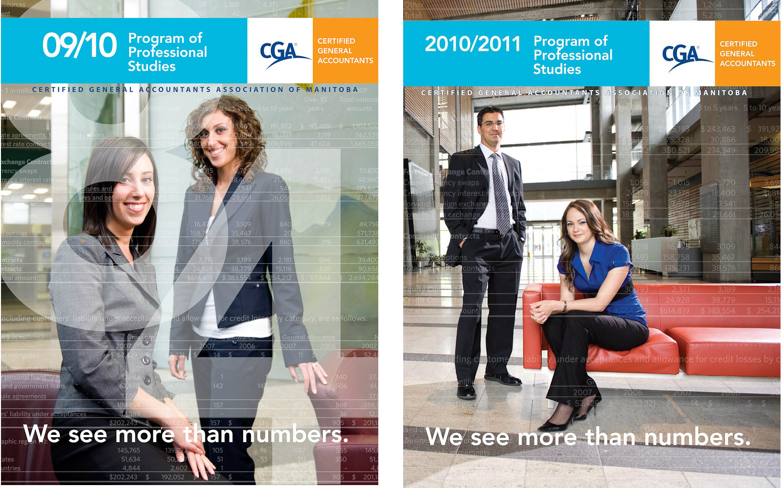 CGA ad by Winnipeg commercial photographer