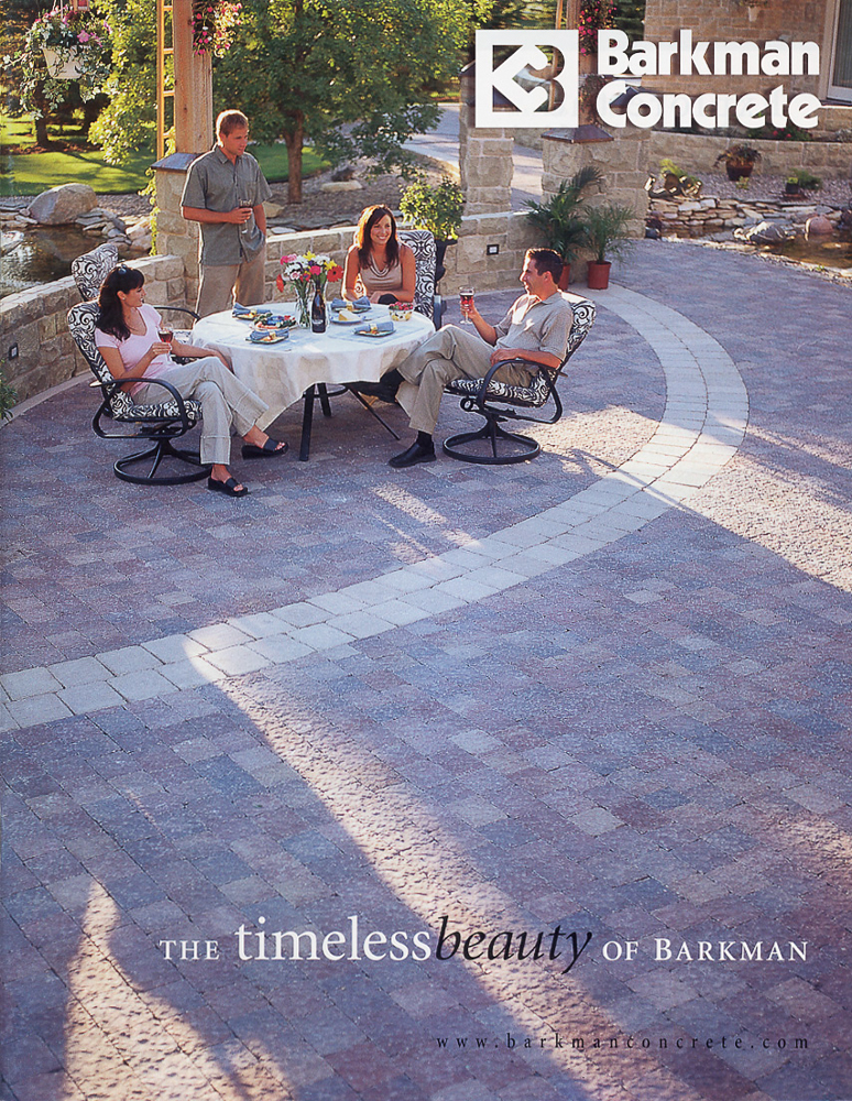 Paver stones ad 2 by Winnipeg commercial photographer