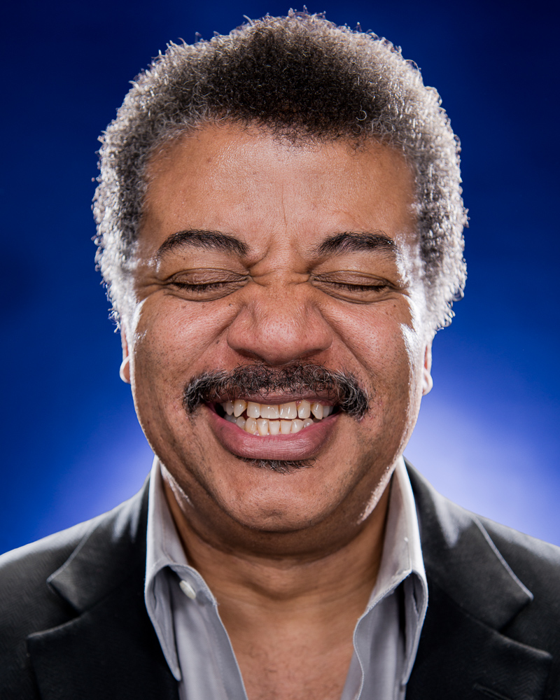 Neil deGrasse Tyson by Winnipeg editorial photographer