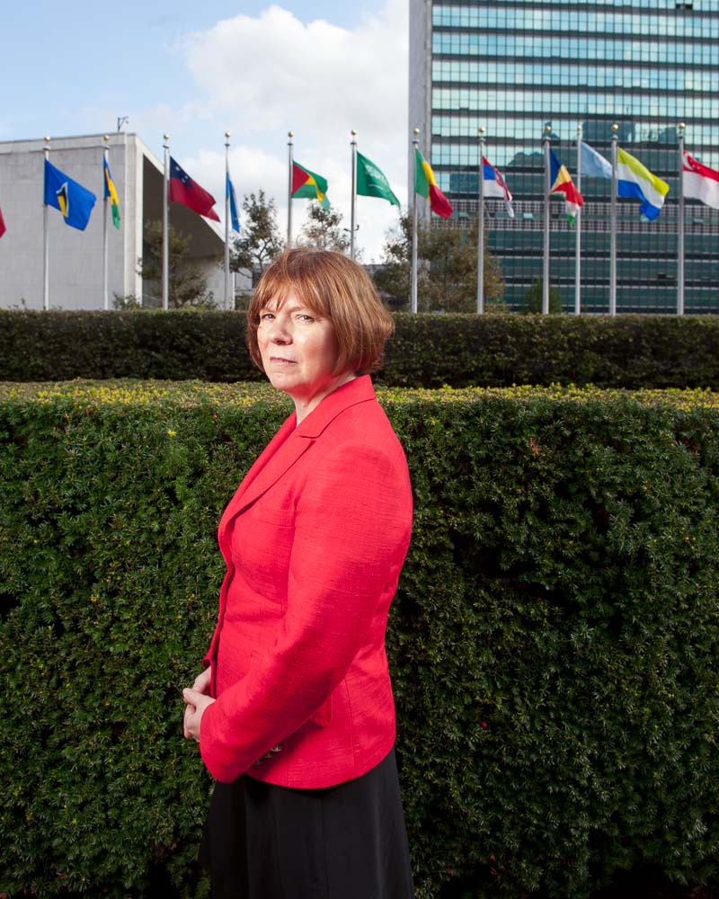 Kimberly Prost at United Nations by Winnipeg editorial photographer