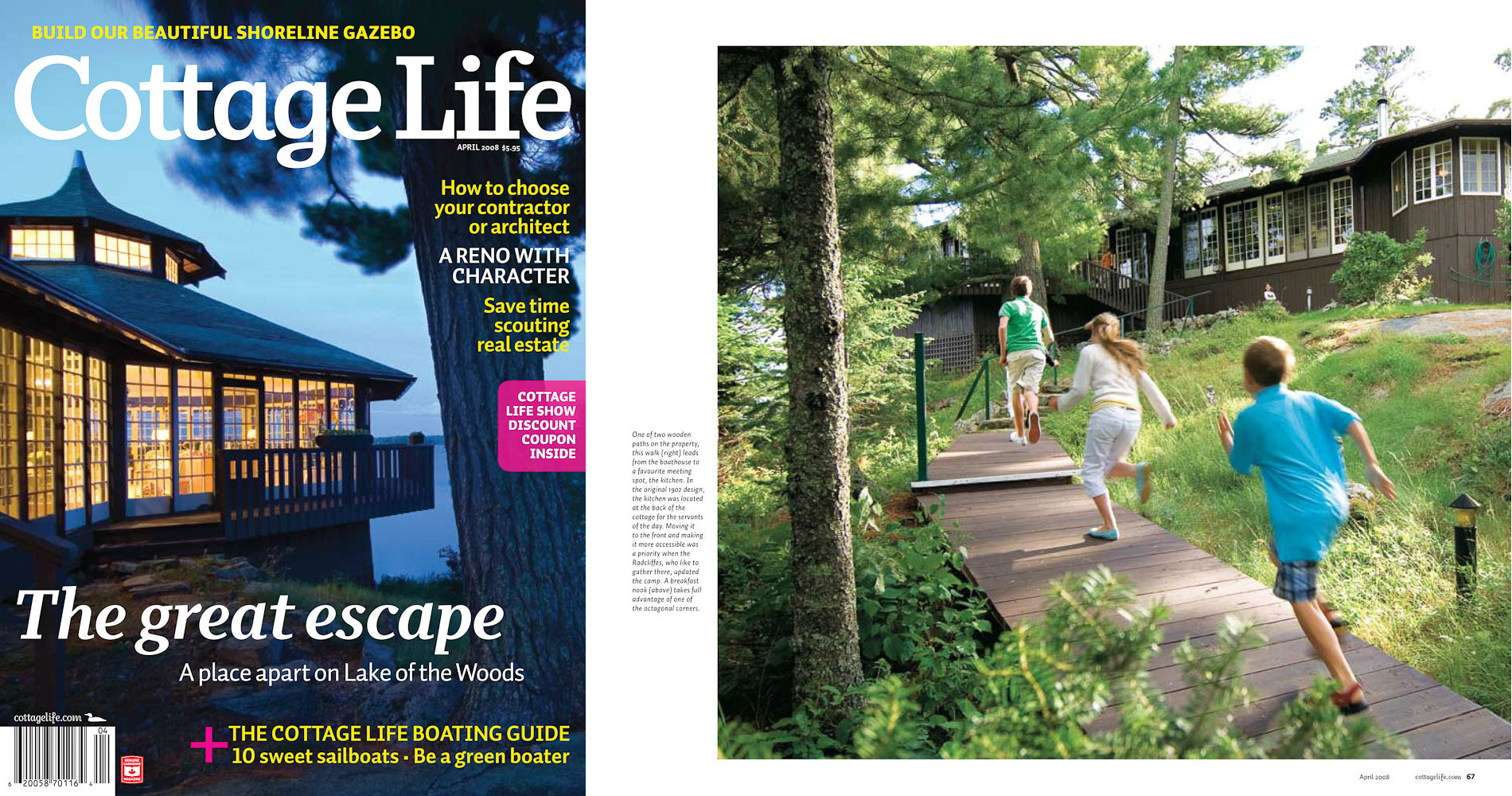 Cottage cover 2 by Winnipeg editorial photographer