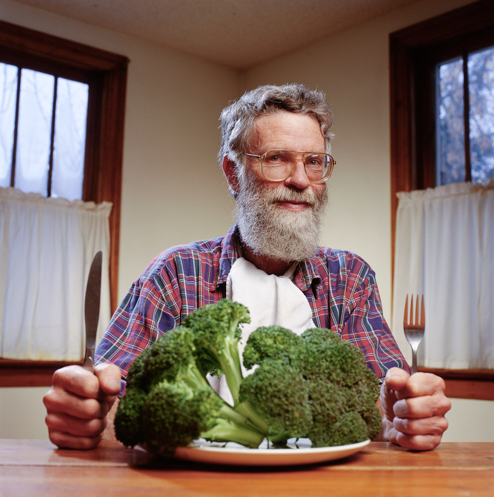 Eat your broccoli by winnipeg editorial photographer