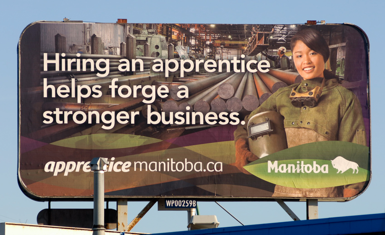 Apprenticeship ad by Winnipeg commercial photographer