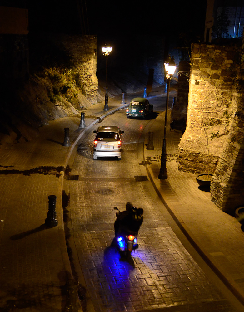 Guanajuato night tunnels by Winnipeg travel photographer