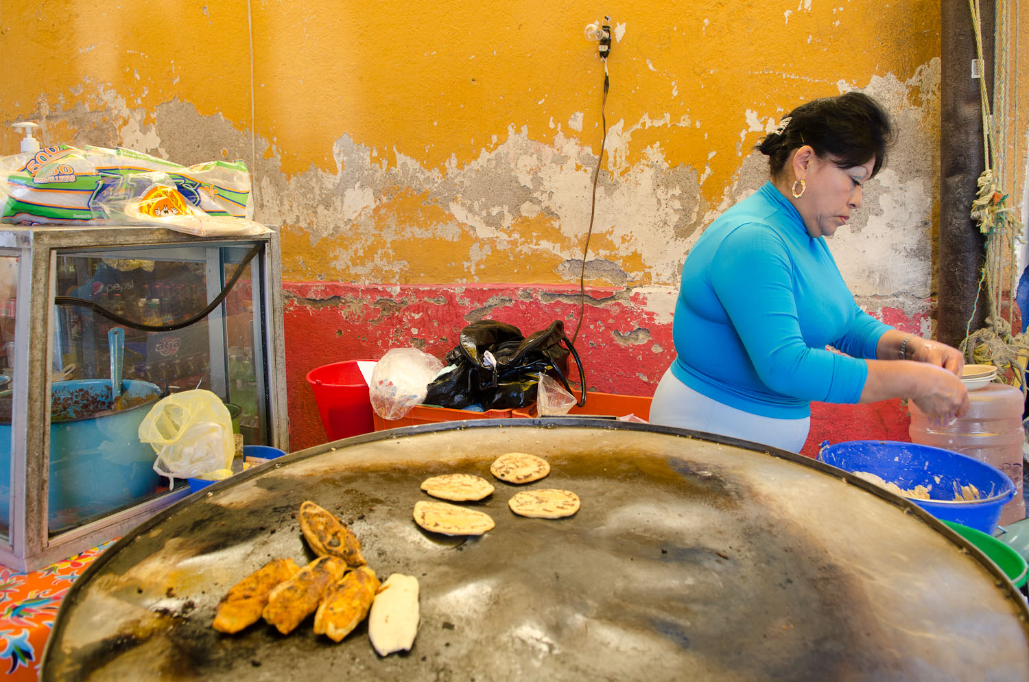 Gorditas by Winnipeg travel photographer